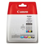 Original Ink Cartridges Canon CLI-571 CMYK (0386C005) (4xpack)