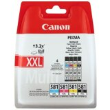 Original Ink Cartridges Canon CLI-581 XXL CMYK (1998C005) (4xpack)