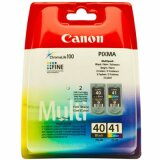 Original Ink Cartridges Canon PG-40 + CL-41 (0615B036, 0615B043)