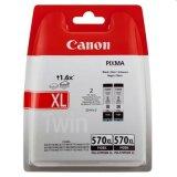 Original Ink Cartridges Canon PGI-570 XL BK (0318C007) (Black) for Canon Pixma MG7752