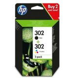 Original Ink Cartridges HP 302 (X4D37AE) for HP ENVY 4528