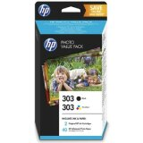 Original Ink Cartridges HP 303 (Z4B62EE) for HP ENVY Photo 7134