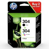 Original Ink Cartridges HP 304 (3JB05AE) for HP DeskJet 3735 All-in-One