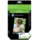 Original Ink Cartridges HP 363 MULTI PACK (Q7966EE) for HP Photosmart  3300