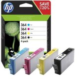Original Ink Cartridges HP 364 (N9J73AE) for HP Photosmart 7520