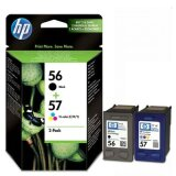 Original Ink Cartridges HP 56 + 57 (SA342AE) for HP Photosmart 7762 W