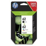 Original Ink Cartridges HP 62 (N9J71AE) for HP OfficeJet 5742