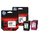 Original Ink Cartridges HP 652 (F6V25AE, F6V24AE) for HP Deskjet Ink Advantage 3790