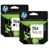 Original Ink Cartridges HP 704 (CN692AE, CN693AE)