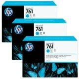 Original Ink Cartridges HP 761 (CR272A) (Cyan) for HP Designjet T7100