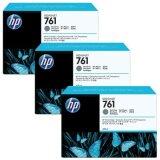 Original Ink Cartridges HP 761 (CR274A) (Dark gray) for HP Designjet T7100