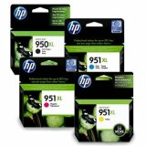 Original Ink Cartridges HP 950 XL/951 XL (C2P43AE) for HP Officejet Pro 8620 e-All-in-One Printer