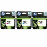 Original Ink Cartridges HP 953 XL CMY (1CC21AE) (3-pack)