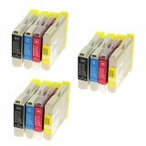 3x Compatible Ink Cartridges LC-970 CMYK for Brother (LC970VALBP)
