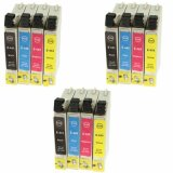 3x Compatible Ink Cartridges T0445 for Epson (C13T043140BA) (multi pack)