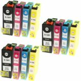 3x Compatible Ink Cartridges T1305 for Epson (C13T13064010) (multi pack)