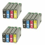 3x Compatible Ink Cartridges T7015 for Epson (C13T071540A0)