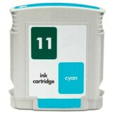 Compatible Ink Cartridge 11 (C4836AE) (Cyan) for HP Color Printer cp1700 PS