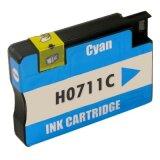 Compatible Ink Cartridge 711 (CZ130A) (Cyan) for HP Designjet T520 - CQ893A