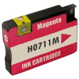 Compatible Ink Cartridge 711 (CZ131A) (Magenta) for HP Designjet T520 - CQ893A