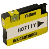 Compatible Ink Cartridge 711 (CZ132A) (Yellow) for HP Designjet T520 - CQ893A