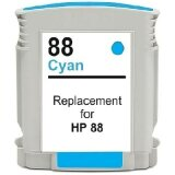 Compatible Ink Cartridge 88 XL (C9391AE) (Cyan) for HP Officejet Pro L7580