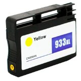 Compatible Ink Cartridge 933 XL (CN056AE) (Yellow) for HP Officejet 6100 H611