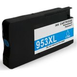 Compatible Ink Cartridge 953 XL (F6U16AE) (Cyan) for HP OfficeJet Pro 8718
