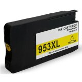 Compatible Ink Cartridge 953 XL (F6U18AE) (Yellow) for HP OfficeJet Pro 8718