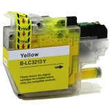 Compatible Ink Cartridge LC-3213Y (LC-3213Y) (Yellow) for Brother DCP-J572 DW