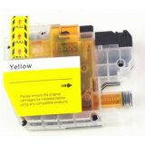 Compatible Ink Cartridge LC-3217Y for Brother (LC-3217Y) (Yellow)