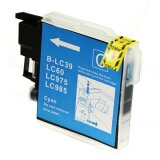 Compatible Ink Cartridge LC-985 C (LC985C) (Cyan) for Brother DCP-J125
