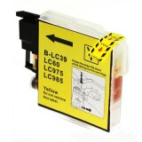 Compatible Ink Cartridge LC-985 Y (LC9850Y) (Yellow) for Brother DCP-140 W