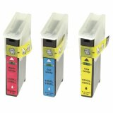 Compatible Ink Cartridges 100XL CMY for Lexmark (14N0850)