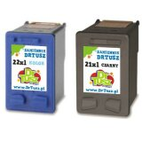 Compatible Ink Cartridges 21 + 22 (SD367AE) for HP FAX 1250
