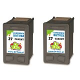 Compatible Ink Cartridges 27 (CC621A) (Black) for HP Deskjet 3668