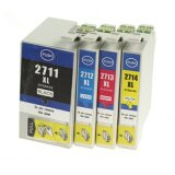 Compatible Ink Cartridges 27xl for Epson WorkForce WF-3640 DTWF
