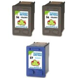 Compatible Ink Cartridges 2x 56 + 57 (SD399AE) for HP Officejet 6110 XI