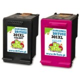 Compatible Ink Cartridges 301 (CR340E, N9J72AE) for HP Deskjet 2542 All-in-One Printer