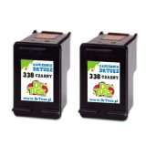 Compatible Ink Cartridges 338 (CB331H) (Black) for HP Deskjet 6540 D