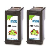 Compatible Ink Cartridges 339 (C9504EE) (Black) for HP Officejet 6310