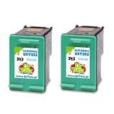 Compatible Ink Cartridges 343 (CB332EE) (Color) for HP Photosmart C3125