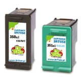 Compatible Ink Cartridges 350 XL + 351 XL for HP Photosmart C4340