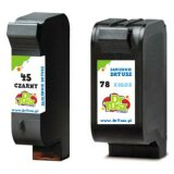 Compatible Ink Cartridges 45 + 78 (SA308AE) for HP Deskjet 955 C
