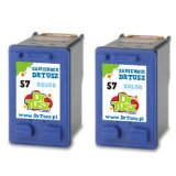 Compatible Ink Cartridges 57 (C9334A) (Color) for HP Photosmart 7762 W
