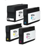 Compatible Ink Cartridges 950 XL/951 XL for HP (C2P43AE)