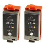 Compatible Ink Cartridges CLI-36 for Canon (1511B018) (Color)