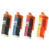 Compatible Ink Cartridges CLI-551 CMYK for Canon (6509B008, 6509B009) (4xpack)