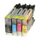 Compatible Ink Cartridges LC-1240 CMYK (LC1240VALBP) for Brother MFC-J5910 DW
