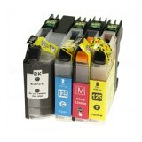 Compatible Ink Cartridges LC-127/125 XL CMYK (LC127XLVALBP) for Brother MFC-J4510 DW